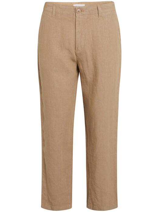 Knowledge Cotton Apparel  Chinos & Hosen Bob Loose Linen Pant  [tuffet] jetzt im Onlineshop von zündstoff bestellen