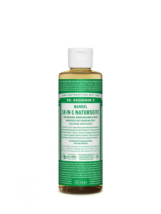 Dr. Bronner's Kosmetik Liquid Soap Mandel 240ml jetzt im Onlineshop von zündstoff bestellen