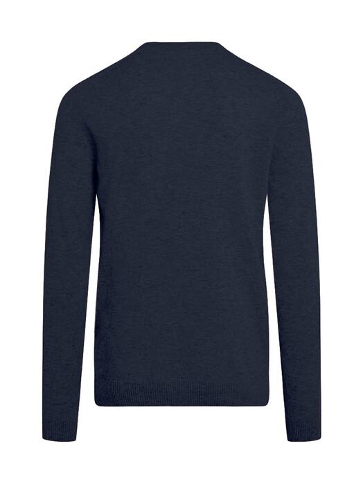 Knowledge Cotton Apparel  Strickpullover Valley O-Neck Knit [total eclipse] XL jetzt im Onlineshop von zündstoff bestellen