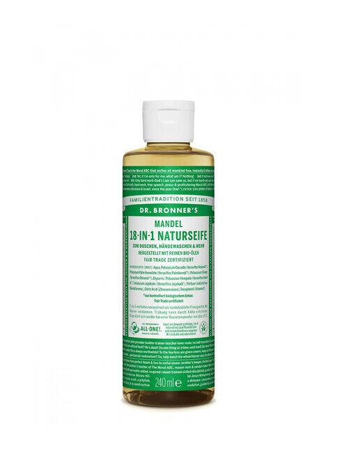 Dr. Bronner's Liquid Soap Mandel 240ml