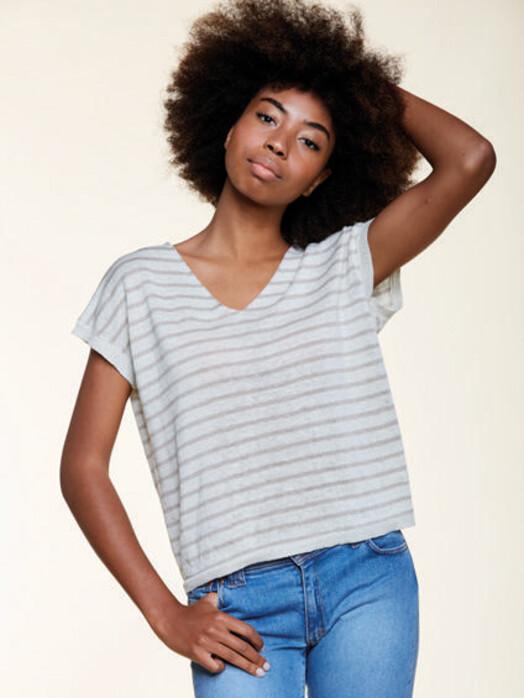 Les Racines du Ciel T-Shirts Sleeveless Sweater [white/light grey] S jetzt im Onlineshop von zündstoff bestellen
