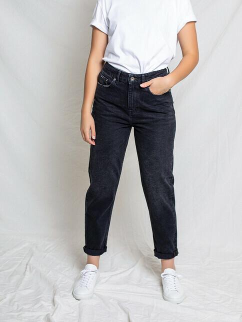 Kuyichi Jeans Nora Mom Fit High Waist [vintage black]