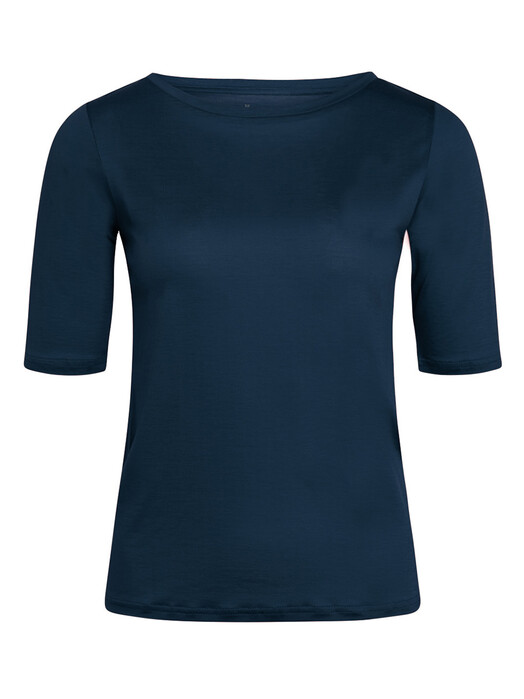Knowledge Cotton Apparel  T-Shirts Violet Tencel Tee [total eclipse] jetzt im Onlineshop von zündstoff bestellen
