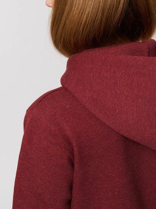 zündstoff.basics Hoodies Carsten [diverse Farben] XL, heather neppy burgundy jetzt im Onlineshop von zündstoff bestellen