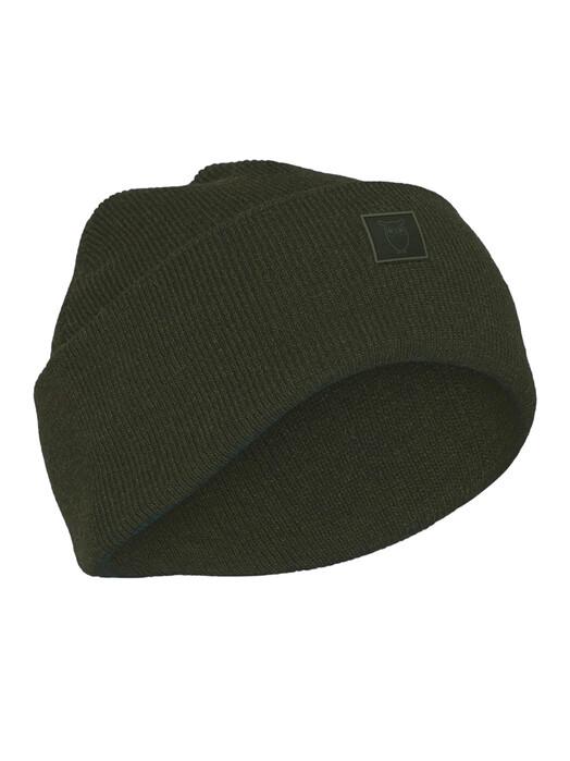 Knowledge Cotton Apparel  Mützen Leaf Organic Wool Beanie [forrest night]  One Size jetzt im Onlineshop von zündstoff bestellen