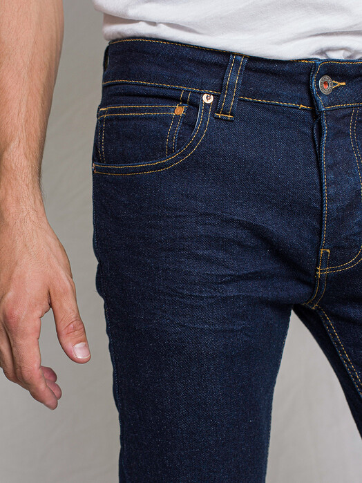Kuyichi  Jeans Jamie [dark rinse] jetzt im Onlineshop von zündstoff bestellen
