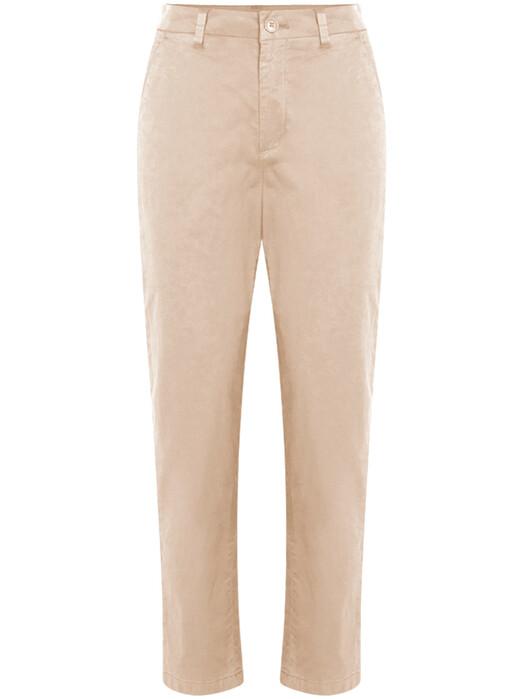 Knowledge Cotton Apparel  Hosen Willow Slim Chino [light feather gray] jetzt im Onlineshop von zündstoff bestellen