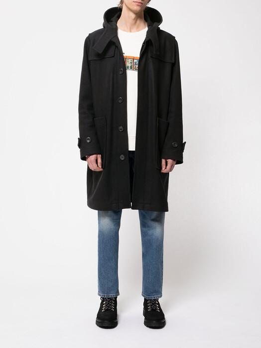 nudie Jeans Jacken & Mäntel Danne Duffel Coat [navy] jetzt im Onlineshop von zündstoff bestellen