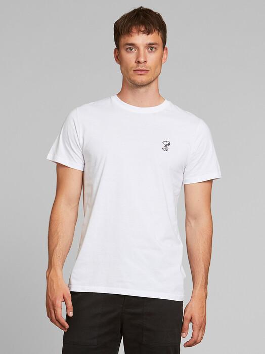 Dedicated T-Shirts Stockholm Snoopy [white] M jetzt im Onlineshop von zündstoff bestellen