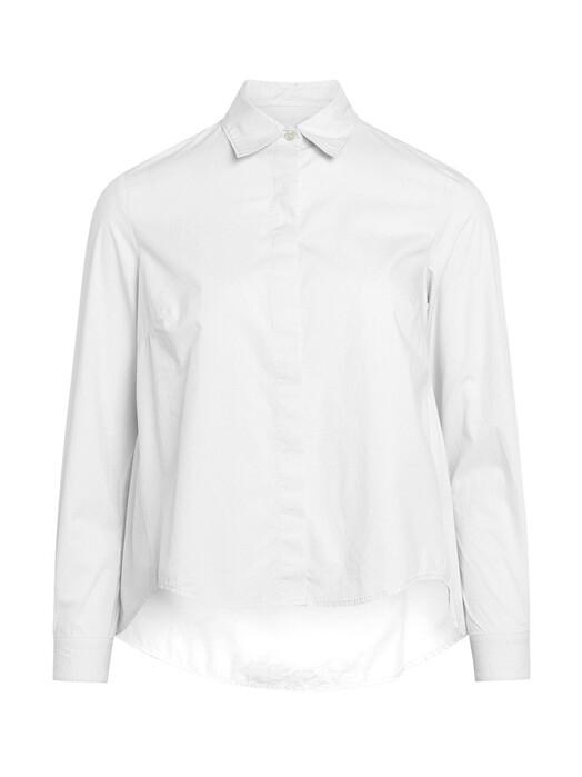 Knowledge Cotton Apparel  Blusen Jacinta [bright white] jetzt im Onlineshop von zündstoff bestellen