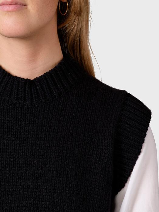 Klitmøller Collective Strickpullover & Cardigans Leah [black] jetzt im Onlineshop von zündstoff bestellen