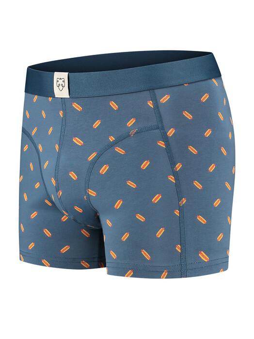 A-dam Underwear Unterwäsche  Boxerbrief Rufus [mid blue] jetzt im Onlineshop von zündstoff bestellen