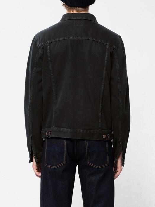 nudie Jeans Jacken & Mäntel Bobby [black void denim] jetzt im Onlineshop von zündstoff bestellen