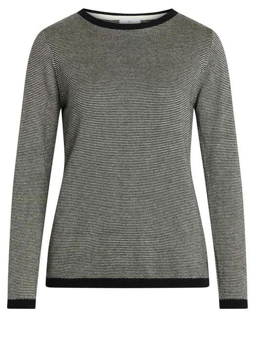 Klitmøller Collective Strickpullover & Cardigans Rosa [black/pastel grey] L jetzt im Onlineshop von zündstoff bestellen