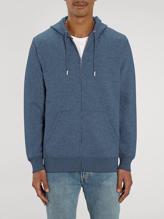 zündstoff.basics Hoodies Charlie [diverse Farben] M, dark heather blue jetzt im Onlineshop von zündstoff bestellen
