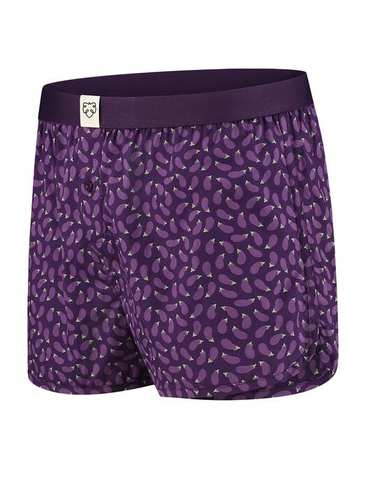 A-dam Underwear Unterwäsche  Boxershort Rene [aubergine] jetzt im Onlineshop von zündstoff bestellen