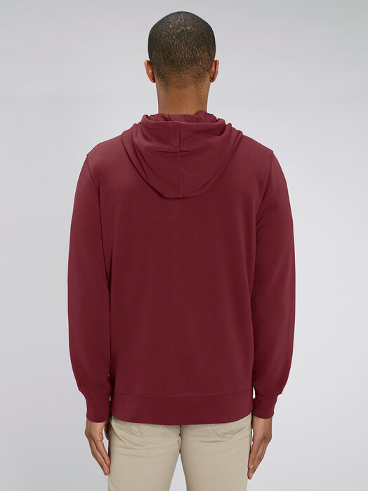 Hoodies - Charlie [diverse Farben] - L, burgundy 4