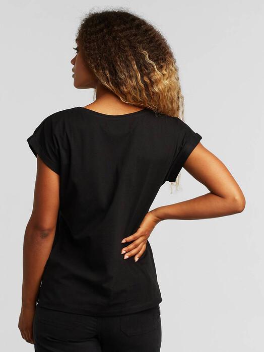 Dedicated T-Shirts Visby Love Circle [black] jetzt im Onlineshop von zündstoff bestellen