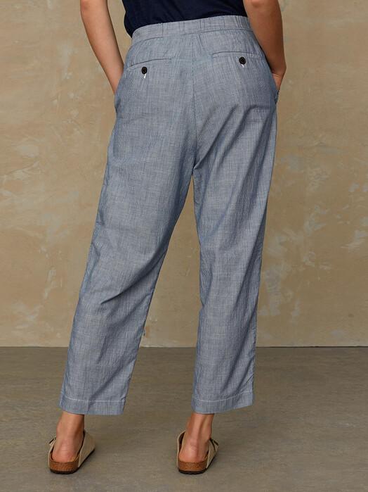 K.O.I. Jeans Hosen Lourdes [blue fine stripe] jetzt im Onlineshop von zündstoff bestellen