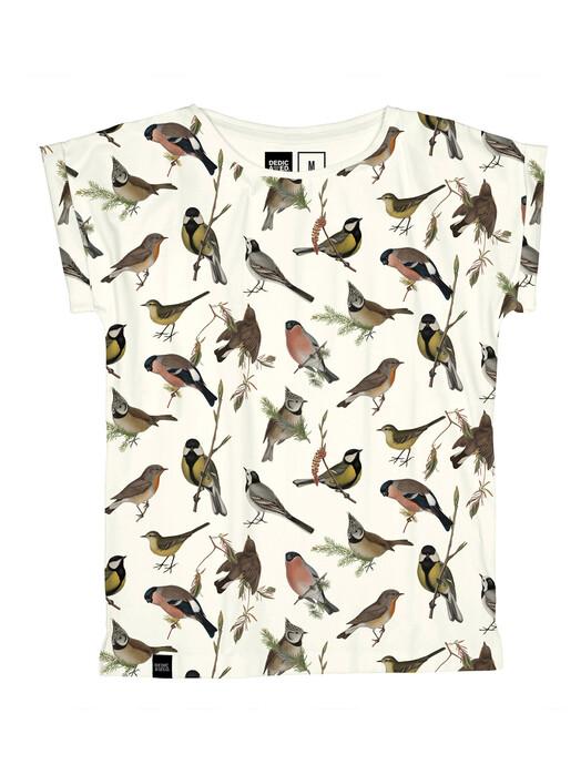 Dedicated T-Shirts Visby Autumn Birds [off white] jetzt im Onlineshop von zündstoff bestellen