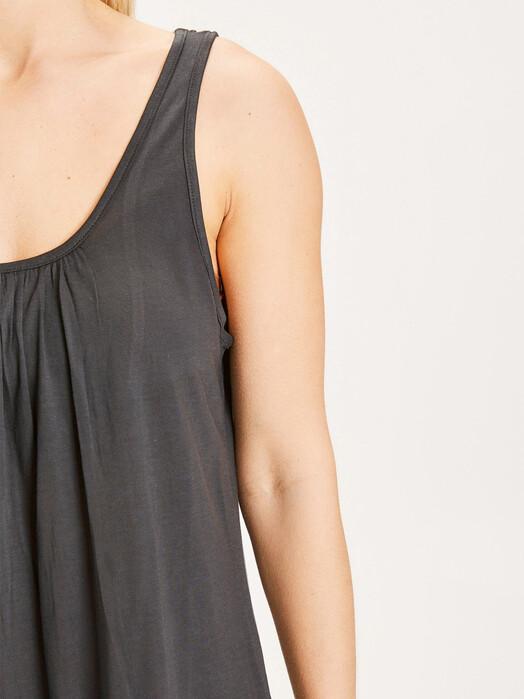 Knowledge Cotton Apparel  Kleider Heather Tencel Dress [black jet] jetzt im Onlineshop von zündstoff bestellen