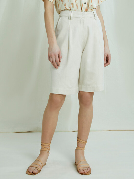 People Tree  Shorts Polly Shorts [almond] jetzt im Onlineshop von zündstoff bestellen
