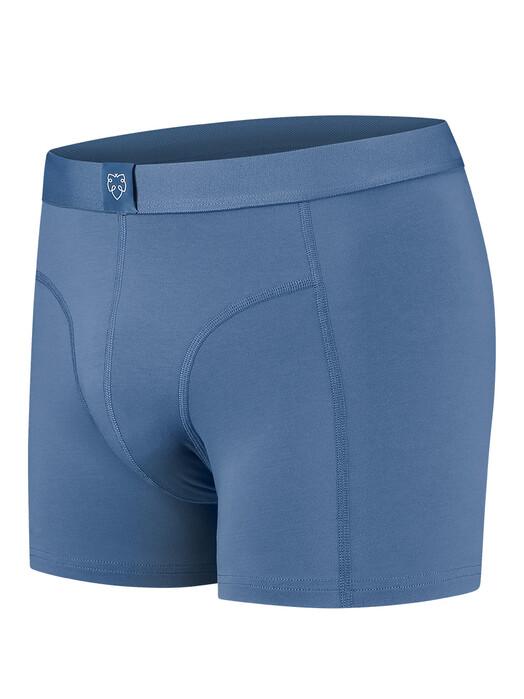 A-dam Underwear Unterwäsche  3er-Pack Boxerbrief Wibi [mid blue] jetzt im Onlineshop von zündstoff bestellen