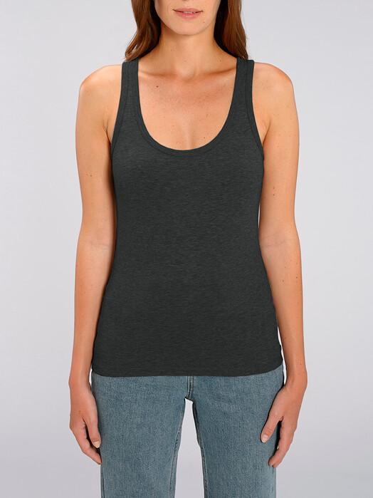 zündstoff.basics Tops Delia [diverse Farben] M, dark heather grey jetzt im Onlineshop von zündstoff bestellen