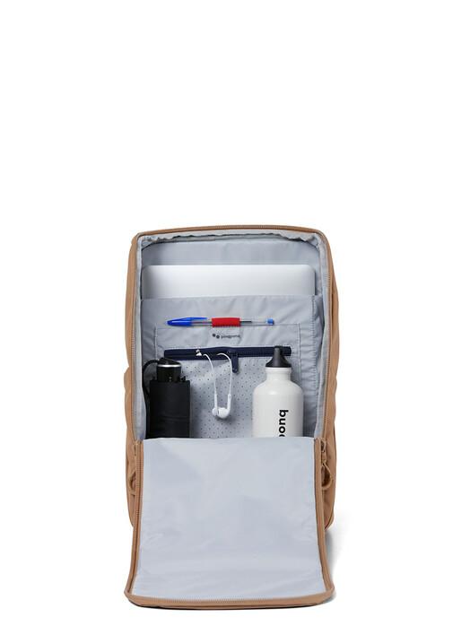 pinqponq Rucksäcke & Taschen Purik [raw umber] One Size jetzt im Onlineshop von zündstoff bestellen