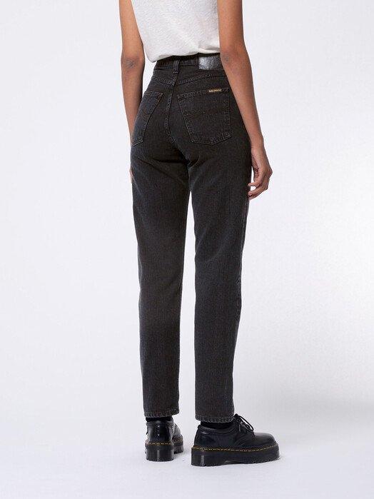 nudie Jeans Jeans Breezy Britt [black worn] jetzt im Onlineshop von zündstoff bestellen