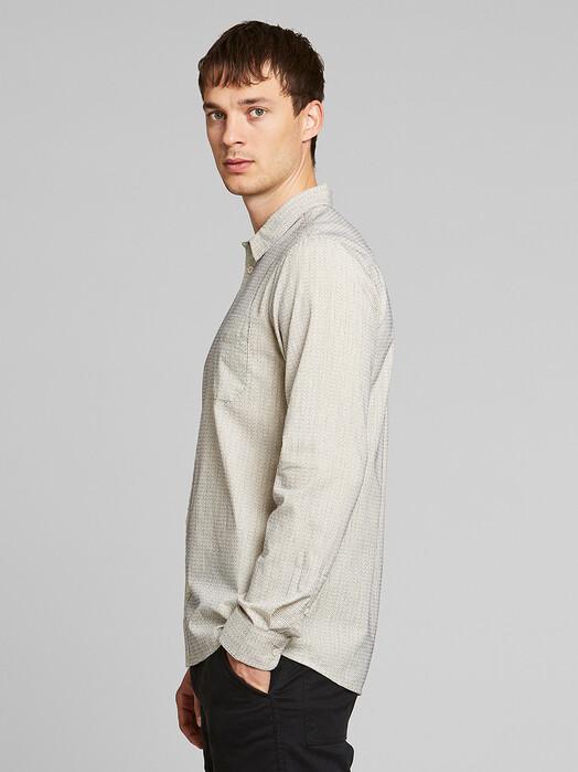 Dedicated Hemden & Polos Varberg Dobby [off white] jetzt im Onlineshop von zündstoff bestellen