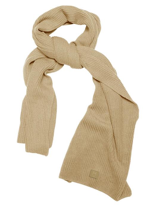 Knowledge Cotton Apparel  Schals & Tücher Juniper Ribbing Scarf [gray green] One Size jetzt im Onlineshop von zündstoff bestellen