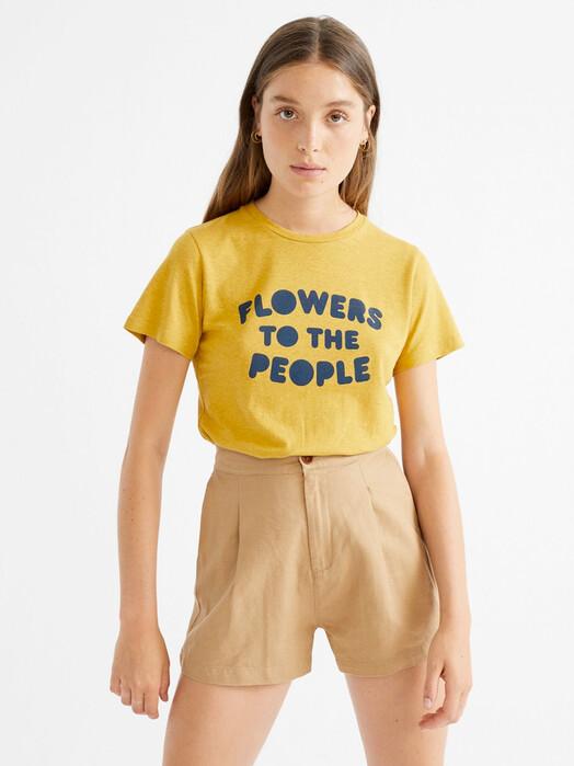 Thinking MU Shorts Hemp Narciso Shorts [camel] jetzt im Onlineshop von zündstoff bestellen