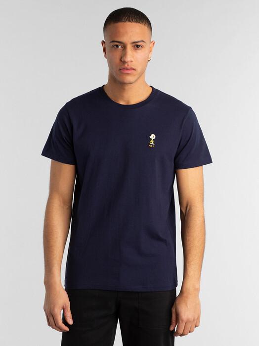 Dedicated T-Shirts Stockholm Charlie Brown [navy] S jetzt im Onlineshop von zündstoff bestellen