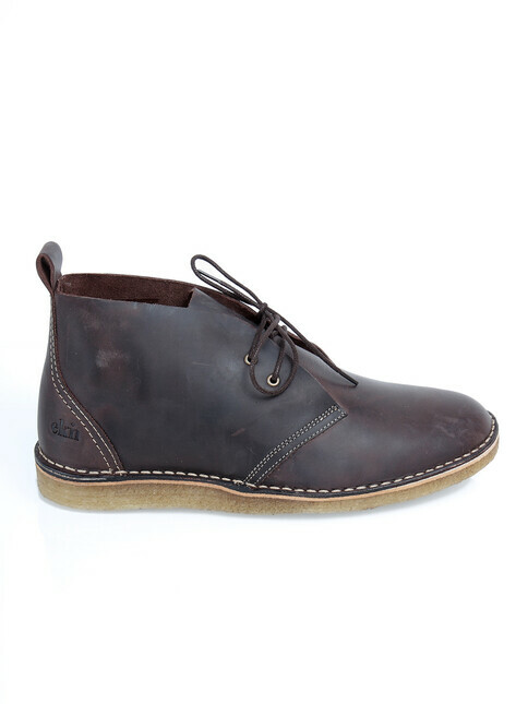 ekn Max Herre [brown leather/crepe sole]