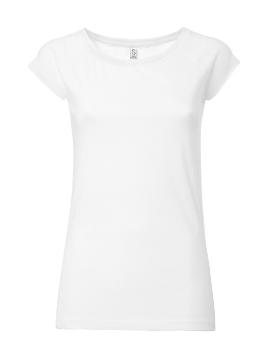 T-Shirts - Women's Cap Sleeve T-Shirt [white] 1