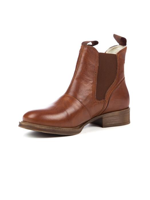 Ten Points Schuhe  Pandora Chelsea [cognac] jetzt im Onlineshop von zündstoff bestellen