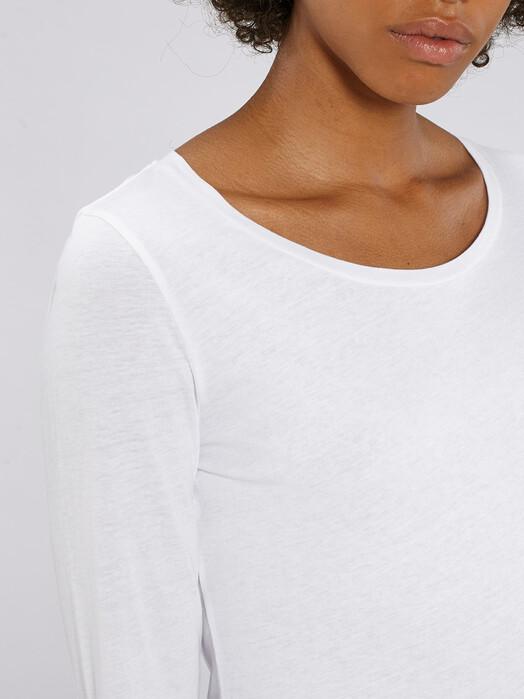 zündstoff.basics Longsleeves Sanne [diverse Farben] XL, white jetzt im Onlineshop von zündstoff bestellen