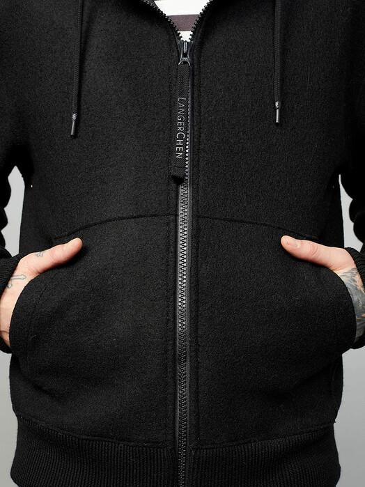 LangerChen Jacken & Mäntel Jacket Macklin [black] jetzt im Onlineshop von zündstoff bestellen