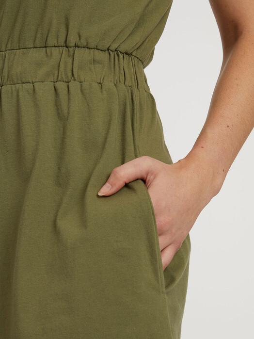 ThokkThokk  Kleider Square Dress [cypress] jetzt im Onlineshop von zündstoff bestellen