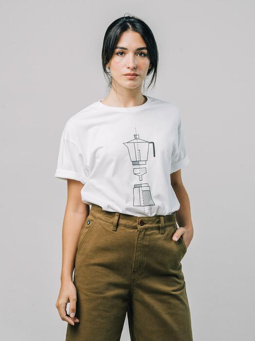 Brava Fabrics T-Shirts How to Moka T-Shirt [white] L jetzt im Onlineshop von zündstoff bestellen