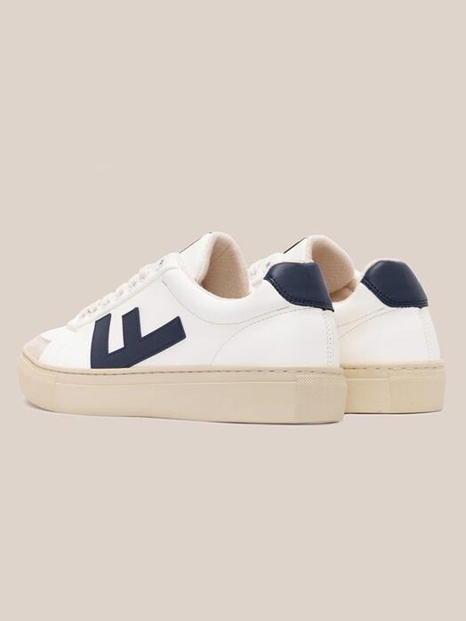 Flamingo's Life Schuhe Classic 70's Kicks [white/navy/grey] jetzt im Onlineshop von zündstoff bestellen