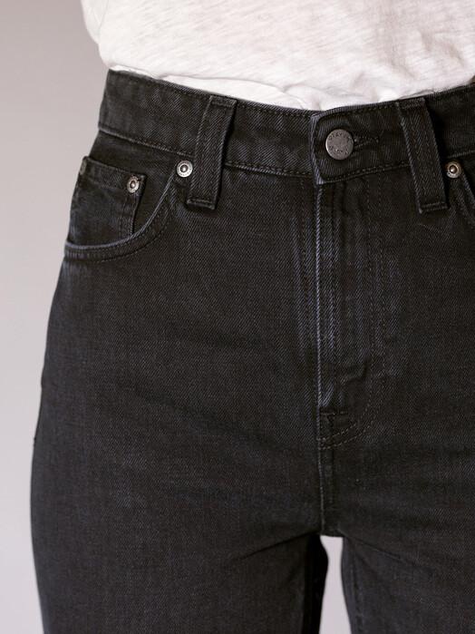 nudie Jeans Jeans Breezy Britt [black worn] 30, 30 jetzt im Onlineshop von zündstoff bestellen