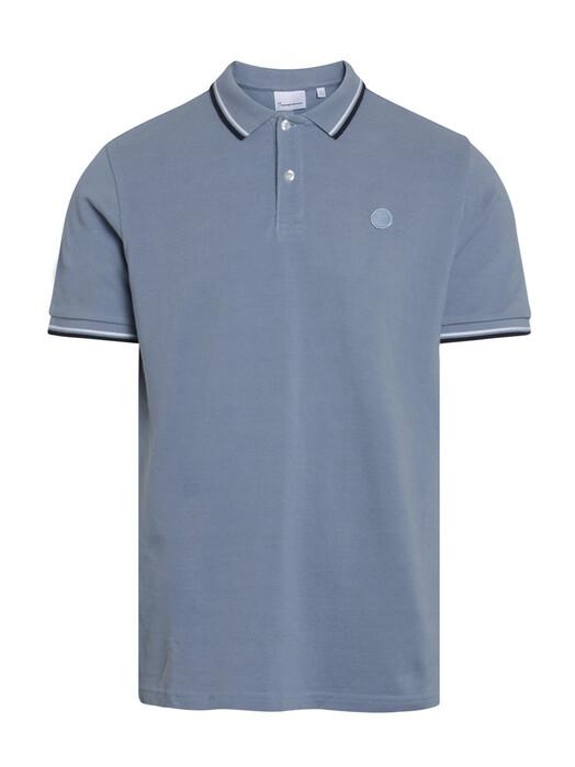 Knowledge Cotton Apparel  Hemden & Polos Rowan Basic Polo [asley blue] jetzt im Onlineshop von zündstoff bestellen