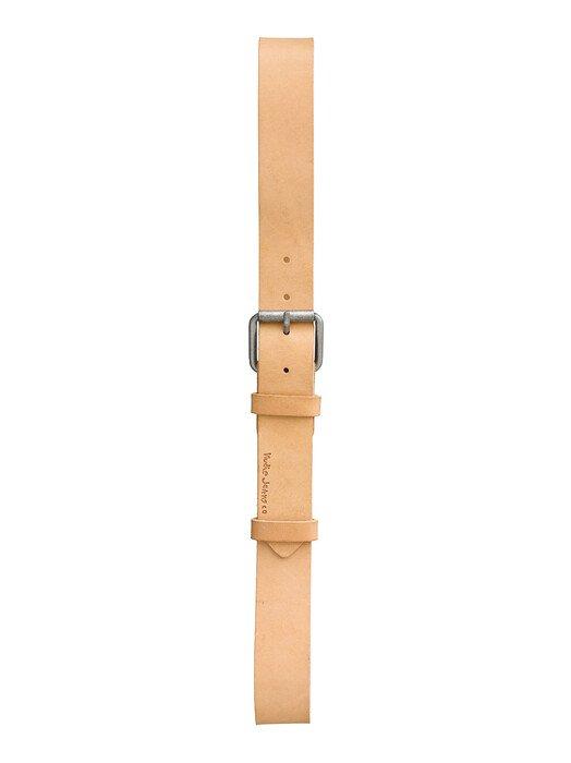 nudie Jeans Gürtel Pedersson Leather Belt [natural] 90 cm jetzt im Onlineshop von zündstoff bestellen