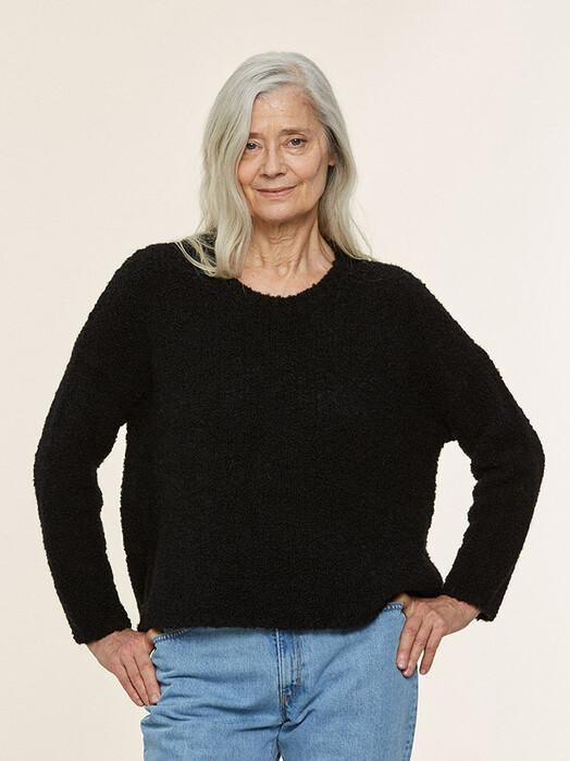 Les Racines du Ciel Strickpullover & Cardigans Estuaire Wide Sweater [black] jetzt im Onlineshop von zündstoff bestellen