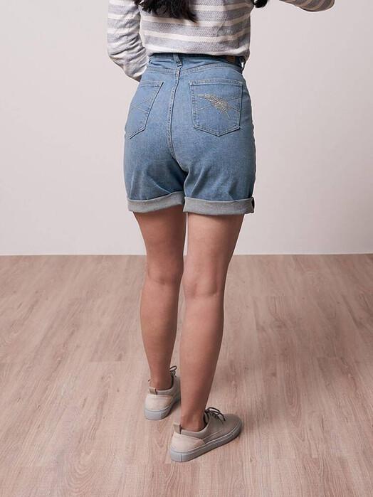 bleed clothing Shorts Recycled Jeans Shorts [blau] jetzt im Onlineshop von zündstoff bestellen