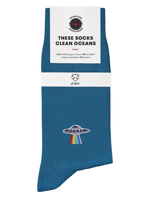 A-dam Underwear Socken  Socks Alan [mid blue] jetzt im Onlineshop von zündstoff bestellen