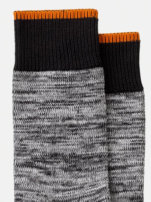 nudie Jeans Socken  Rasmusson Multi Yarn Socks [black] One Size jetzt im Onlineshop von zündstoff bestellen