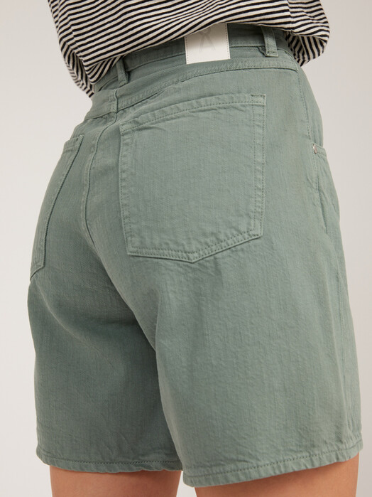ARMEDANGELS Shorts Freymaa [eucalyptus green] jetzt im Onlineshop von zündstoff bestellen